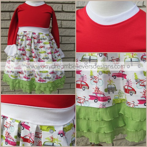 The Bethany Christmas Dress 2013 from Daydream Believers Designs