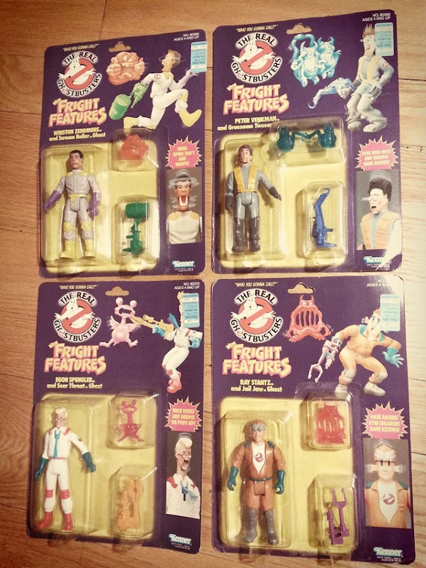 Ghostbusters Fright Features Action Figures