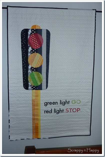 Traffic light quilt 2