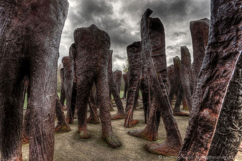 """The unrecognised"" -  112 Statuen, Zitadellenpark, Posen, Polen"