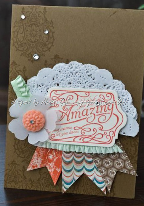 Stampin'Up! Venetian Romance card main
