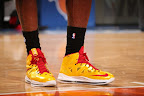 lebron james nba 130301 mia at nyk 13 LeBron Debuts Two New Pairs at MSG   Carmex iD & Grey PE