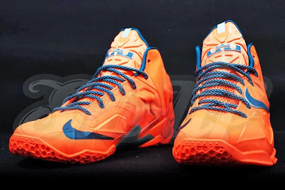 nike lebron 11 gr hardwood knicks 2 05 HWC esque Nike LeBron 11 is in Fact Miami vs. Akron