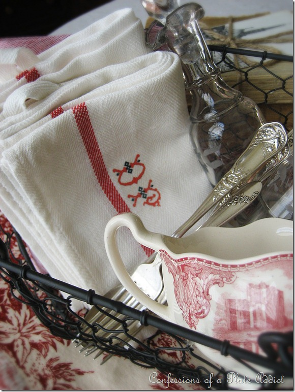 CONFESSIONS OF A PLATE ADDICT DIY Vintage French Linens
