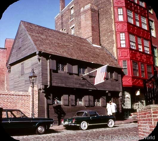 View-Master Boston (A726), Scene 3: Paul Revere House