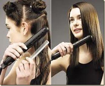 productos para el cabello planchado