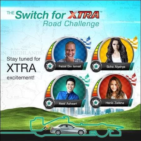 PETRONAS Switch for XTRA Road Challenge #Switch4xtra Hanis Zalikha Awal Ashaari Faizal Bin Ismail Scha Alyahya