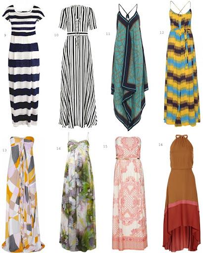 Most Beautiful Maxi Dresses