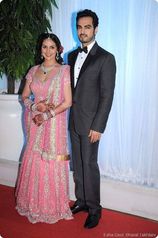 Exclusive Photos of Esha Deol's wedding reception1