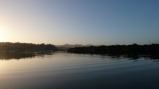 Abfahrt aus Whangarei.