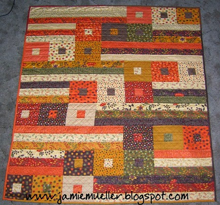 Moda Bake Shop quilt tutorial that uses a jelly roll!