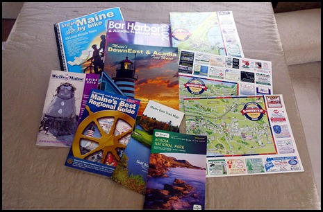 9f - Maine Welcome Center Brochures