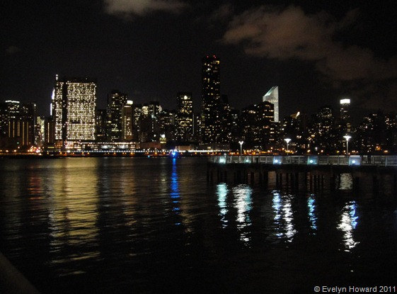 New York night skyline © Evelyn Howard 2011