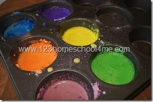 Making Egg Based Tempera Paint for art lesson