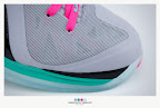nike lebron 9 ps elite grey candy pink 9 15 sneakerbox LeBron 9 P.S. Elite Miami Vice Official Images & Release Date