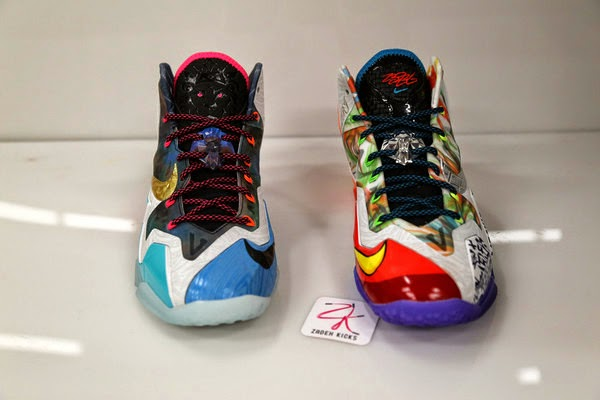 Detailed Look at 8220What the8221 Nike LeBron 11