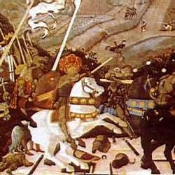 44 - Paolo Ucello - Batalla de San Romano