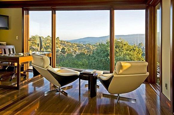 Cómodas sillas de oficina en casa