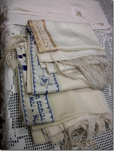 ironed tallitot