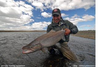 Tierra del Fuego, Argentina Fishing Zone