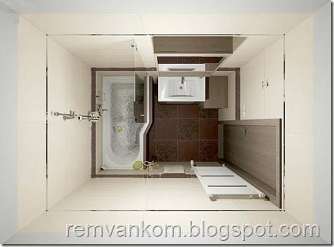 ремонт ванных комнат квартир 14