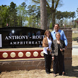 Anthony-Routon Amphitheater Dedication
