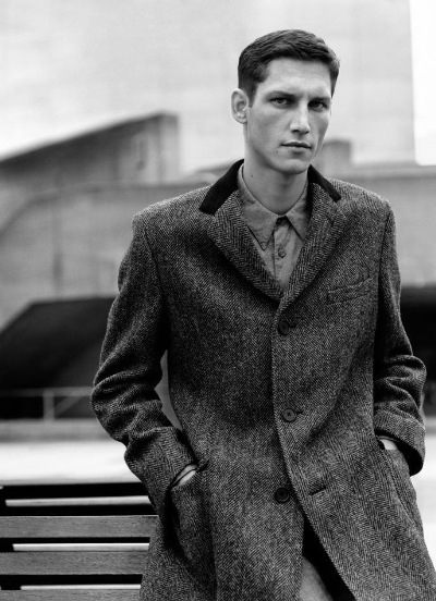 Roch Barbot by Alasdair McLellan for Margaret Howell F/W 2011-12