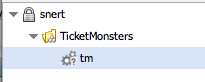 Resourcetree ticketmonster only user