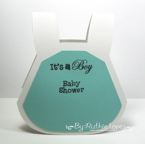 Invitacion Baby Shower. #bebeabordo . Ruthie Lopez. My Hobby My Art. 2