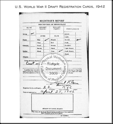 draft card of joseph pilates 1942 parte 2