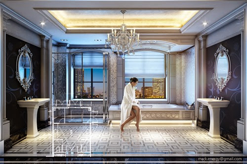 Classic Luxury Bathroom