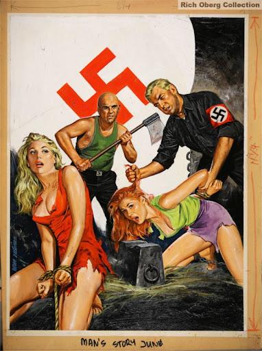 Nazi gay art