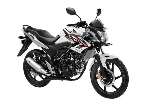 Honda CB 150 R white