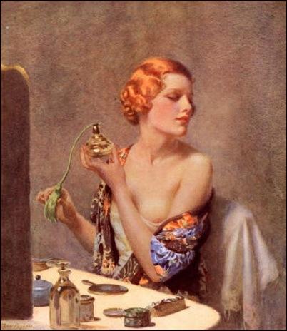 woman-spraying-perfume
