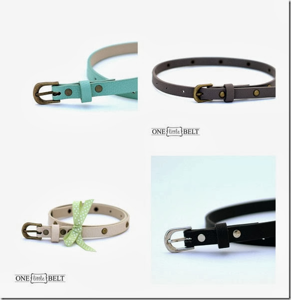 girls belt collage