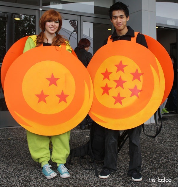 Supanova Sydney 2013 Cosplay -  Dragon Ball Z Balls