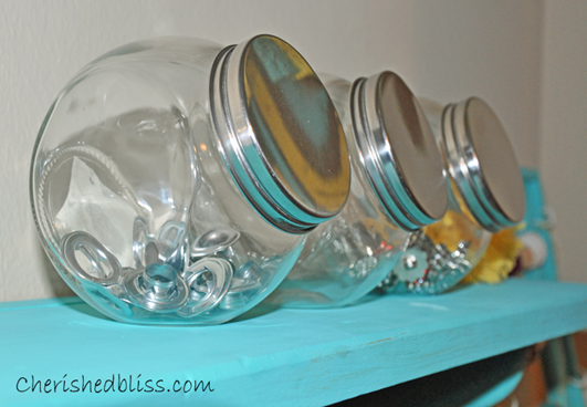 Glass Storage Shelf