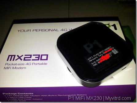 P1 MiFi MX230 e