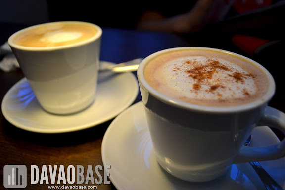 Cafe Latte and Cappuccino at Primo Cafe and Grille