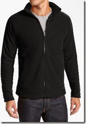 Rediff: Buy Winter Breaker Black Fleece Jacket at Rs. 299