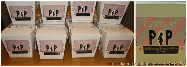 ready to pop popcorn favors for baby shower