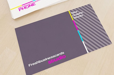 Business Card Template for Design Studio
