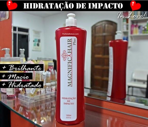hidratação de impacto magnific hair, resenha, testei