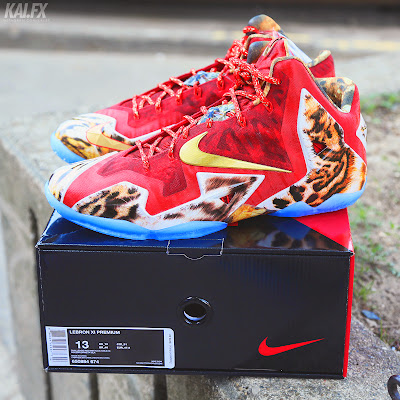 nike lebron 11 gr 2k14 8 01 James Wears Nike LeBron 11 2K14 to Celebrate Miamis Win