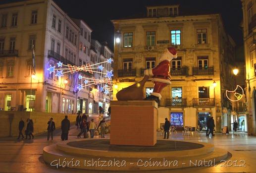 Glória Ishizaka - Coimbra - Natal 2012 - 6 Praça 8 de Maio