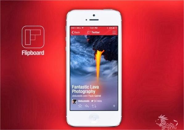 19 increíbles interfaces de aplicaciones móviles hechas para iOS 7 5