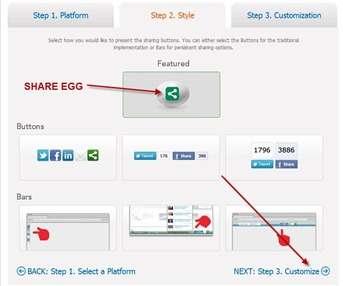 share-egg-personalizzazione