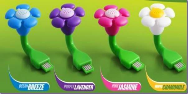 Flores-USB-Aroma-Perfume-Cores-Azul-Roxo-Rosa-Branco