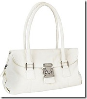 J Jasper Conran White Bag