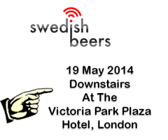 swedish beers london may14